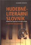 Hudebně-literární slovník  I. - obálka