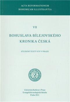 Obálka titulu Bohuslava Bílejovského Kronika česká