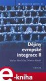 Dějiny evropské integrace II. - obálka