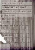 Struktury a funkce (Výbor ze studií 1989-2009) - obálka