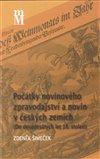 Obálka knihy Počátky novinového zpravodajství