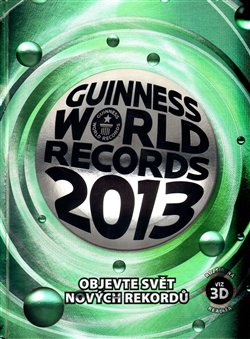 Obálka titulu Guinness World Records 2013