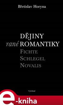 Obálka titulu Dějiny rané romantiky