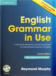 English Grammar in Use - with answers and CD-ROM - obálka