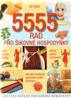 Obálka knihy 5555 rad pro šikovné  hospodyňky