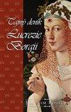 Tajný deník Lucrezie Borgii - obálka