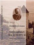 Vzpomínky na Šumavu II. - obálka