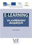 E-learning ve vzdělávání dospělých - obálka