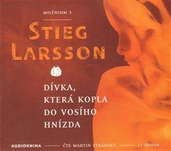 Dívka, která kopla do vosího hnízda, CD - Stieg Larsson