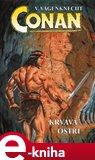 Conan - krvavá ostří - obálka