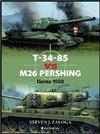 Obálka knihy T-34-85 vs M26 Pershing