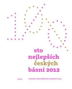 Obálka titulu Sto nejlepších českých básní 2012