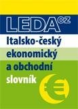 Italsko-český ekonomický a obchodní slovník - obálka