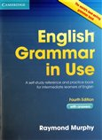 English Grammar in Use with answers - 4th Edition - obálka