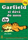 Garfield si dává do nosu - obálka