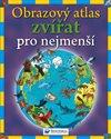 Obálka knihy Obrazový atlas zvířat pro nejmenší