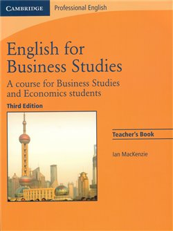 Oblka titulu English for Business Studies Teacher&#180;s Book 3rd edition