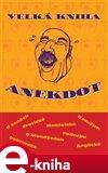 Velká kniha anekdot - obálka