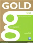 Gold First Coursebook and Active Book Pack - obálka