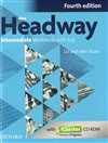 New Headway Intermediate Workbook With Key Fourth Edition + ichecker CR-ROM Pack