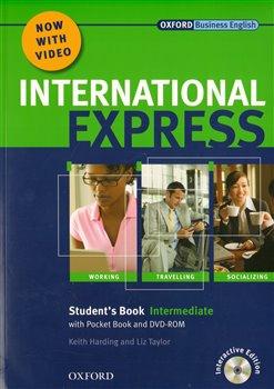 International Express Intermediate Studen´t Book + DVDROM - Liz Taylor, K. Harding