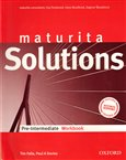 Maturita Solutions Pre-Intermediate Workbook Czech Edition - obálka