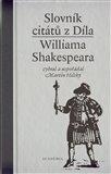 Slovník citátů Williama Shakespeara - obálka