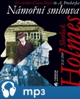 Sherlock Holmes - Námořní smlouva - obálka