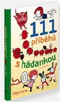 Obálka titulu 111 příběhů s hádankou