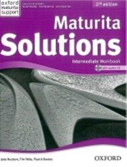 Maturita Solutions Intermediate Workbook 2nd Edition with Audio CD. Czech Edition - T. Falla, P.A. Davies