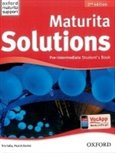 Maturita Solutions Pre-Intermediate Student´s Book  2nd Edition - obálka