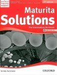 Maturita solutions 2nd Edition Pre-Intermediate Workbook with audio CD Pack - obálka