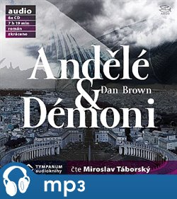 Andělé a démoni, mp3 - Dan Brown