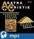 Chrámek bohyně Astarté / Zlaté pruty - obálka