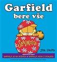 Garfield bere vše - obálka