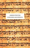 Hebrew printing in Bohemia and Moravia - obálka