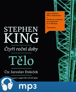 Tělo, mp3 - Stephen King