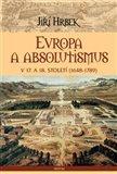 Evropa a absolutismus v 17. a 18. století - obálka