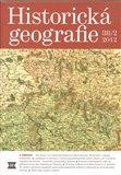 Historická geografie 38/2 - obálka