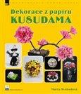 Dekorace z papíru - Kusudama - obálka