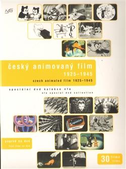 Obálka titulu DVD - Český animovaný film