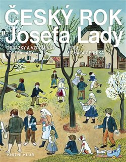 Obálka titulu Český rok Josefa Lady