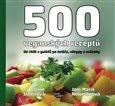 500 veganských receptů - obálka