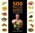 500 paleo receptů (Bazar - Mírně mechanicky poškozené) - obálka