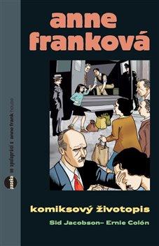 Obálka titulu Anne Franková - komiks