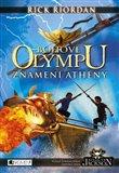 Znamení Athény (Bohové Olympu 3. díl) - obálka