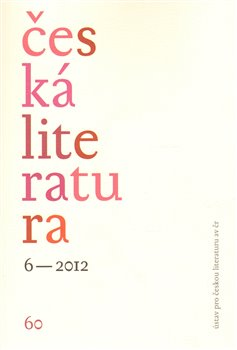 Česká literatura 6/2012