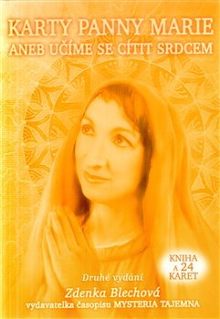 Karty panny Marie. 24 karet + kniha - Zdenka Blechová