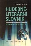 Hudebně-literární slovník III. - obálka