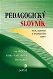 Pedagogický slovník (Nové, rozšířené a aktualizované vydání) - obálka